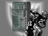 Raiders Wallpaper: 2009 Schedule 1