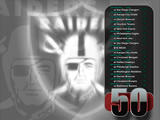 Raiders Wallpaper: 2009 Schedule 2