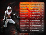Raiders Wallpaper: 2009 Schedule 4